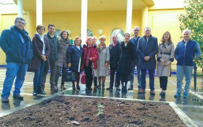 'Gala' se convierte en la primera encina procedente de Los Pedroches en el Real Jardín Botánico